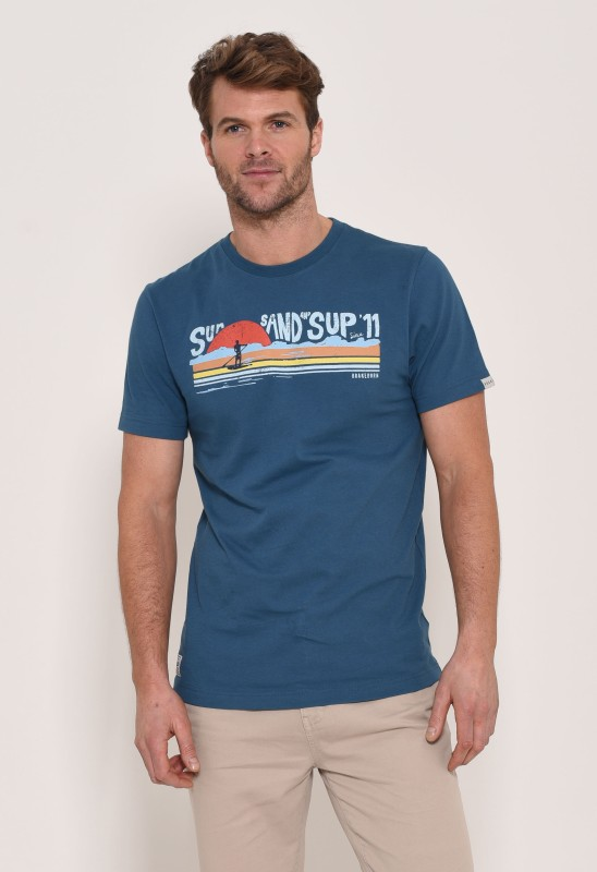 Brakeburn Sup T-Shirt - Blue