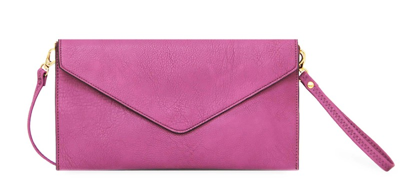 Envelope Clutch Bag - Purple