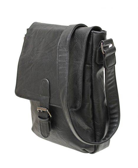 Satchel Crossbody Bag - Black