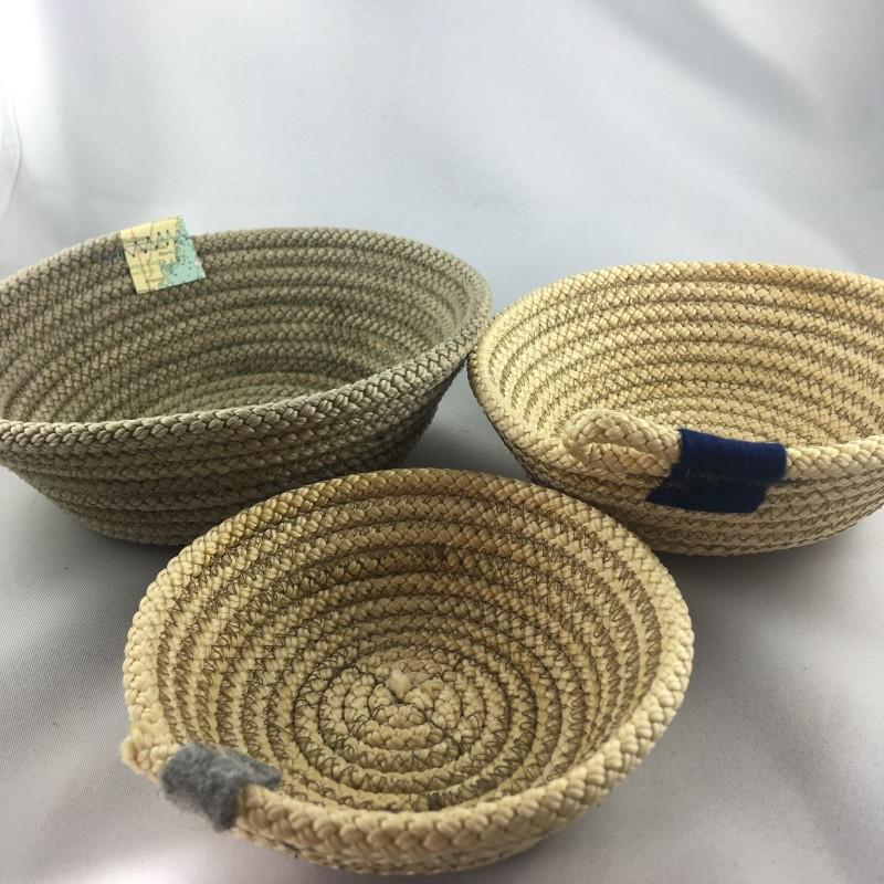 Fischereidesign - Schale aus Tau