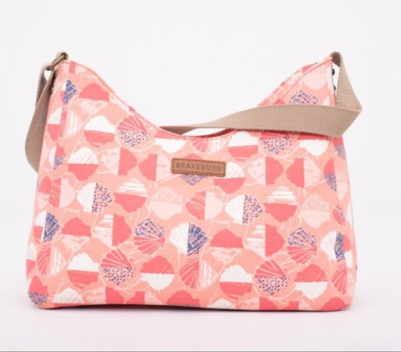 SALE Brakeburn Shell Hobo Bag - Coral