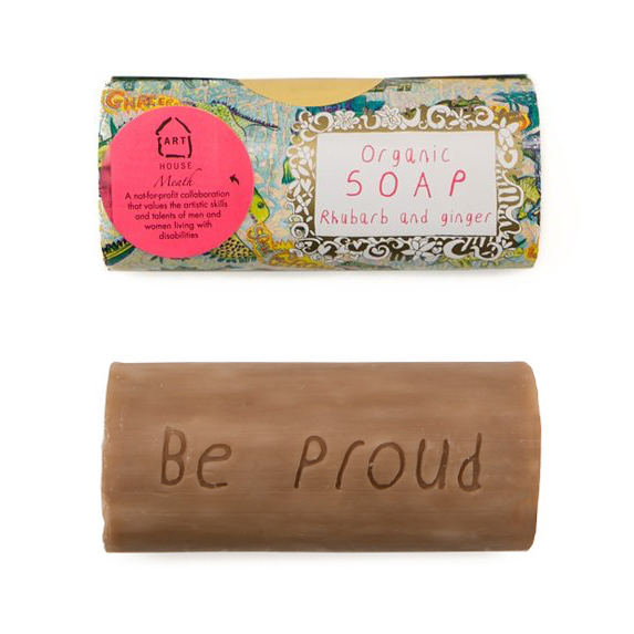 Rhubarb and Ginger Organic Soap by Arthouse