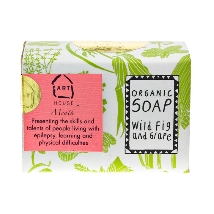 Wild Fig & Grape Organic Soap by Arthouse