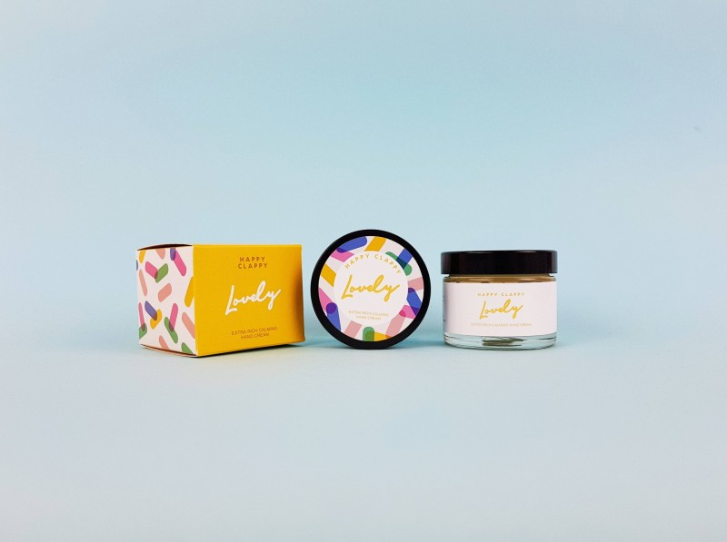 Happy Clappy, Extra Rich Hand Cream by Lovely Cosmetics
