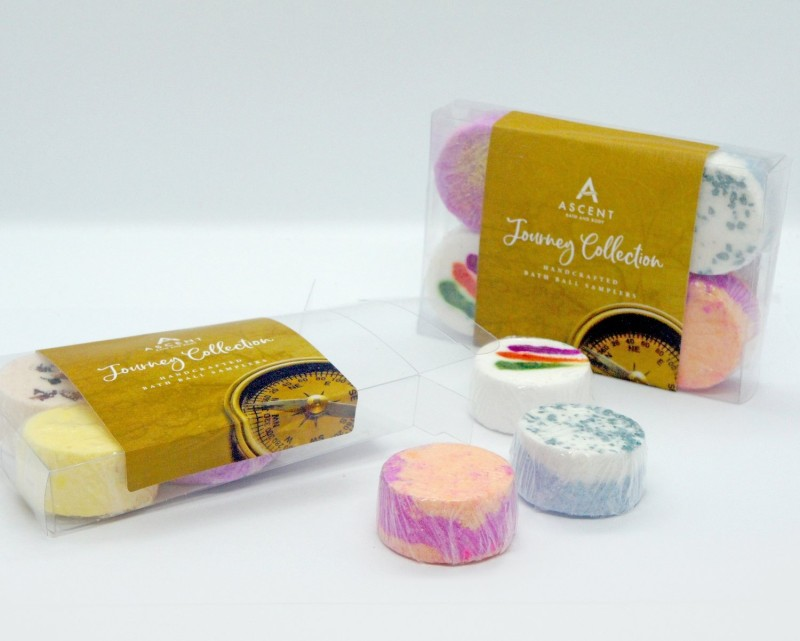 Journey Collection Handcrafted Bath Bomb Samplers by Ascent