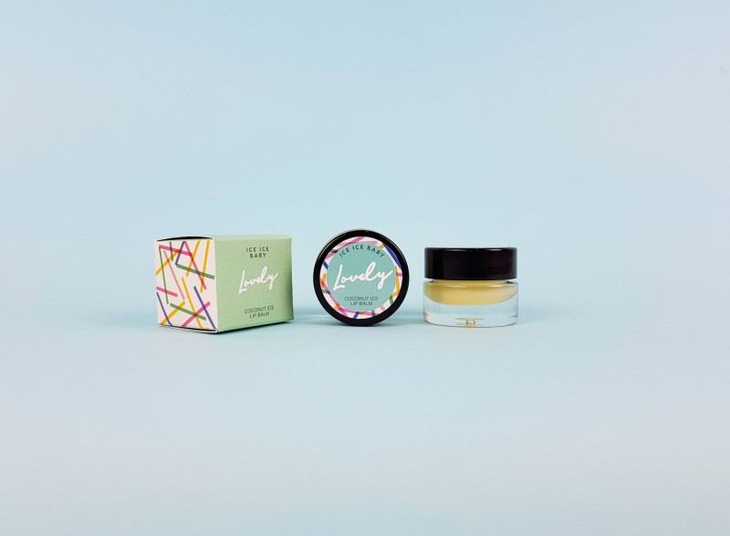 Ice Ice Baby – Coconut Ice Lip Balm by Lovely Cosmetics