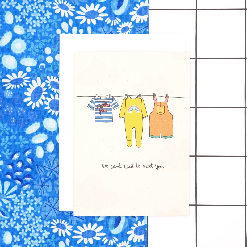 Baby Shower Card by Harriet Emily