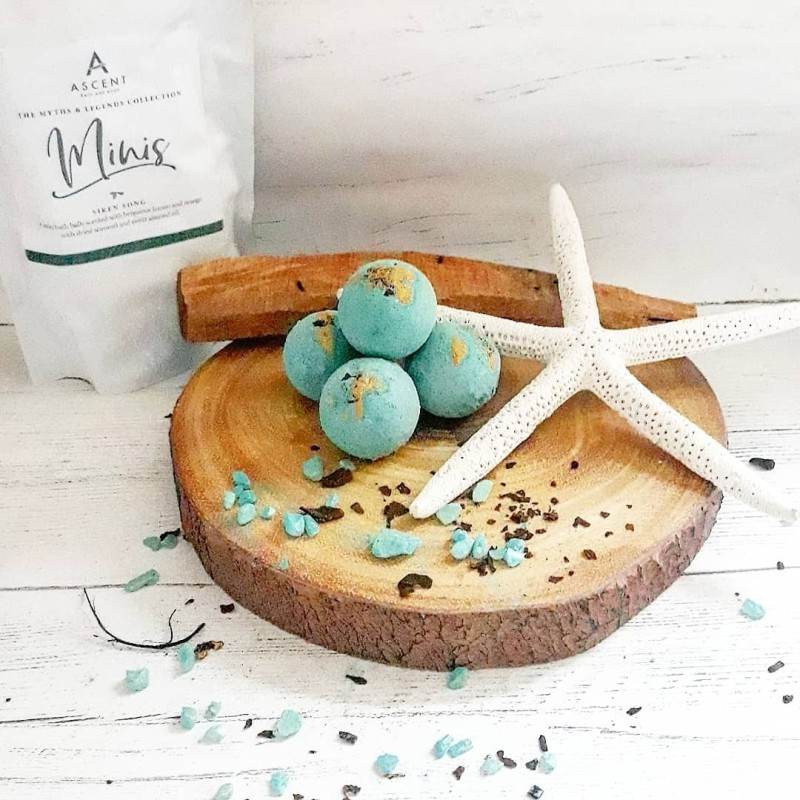 'Siren Song' Mini Bath Bomb pack by Ascent