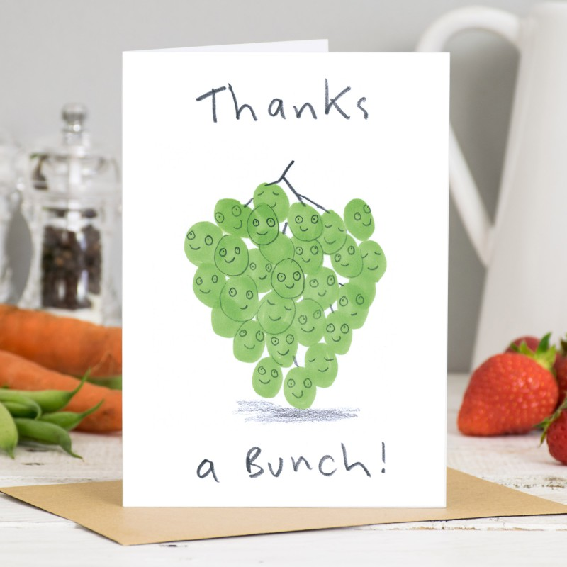 Thanks A Bunch Card by Jo Clark