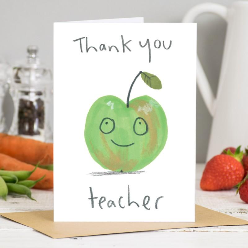 Thank You Teacher Card by Jo Clark
