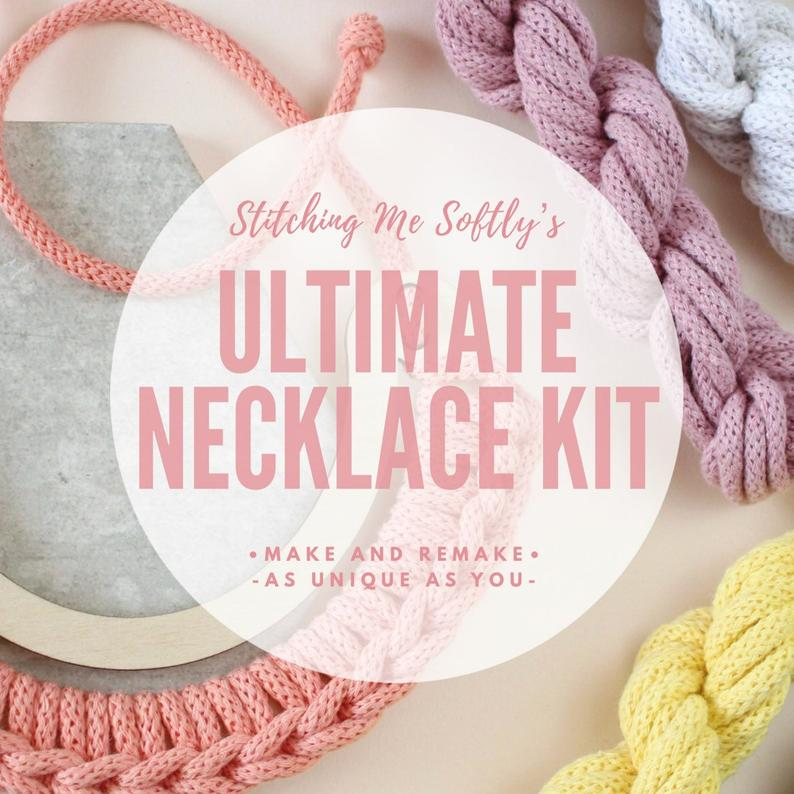 Make You Own Ultimate Statement Necklace Kit by Stitching Me Softly