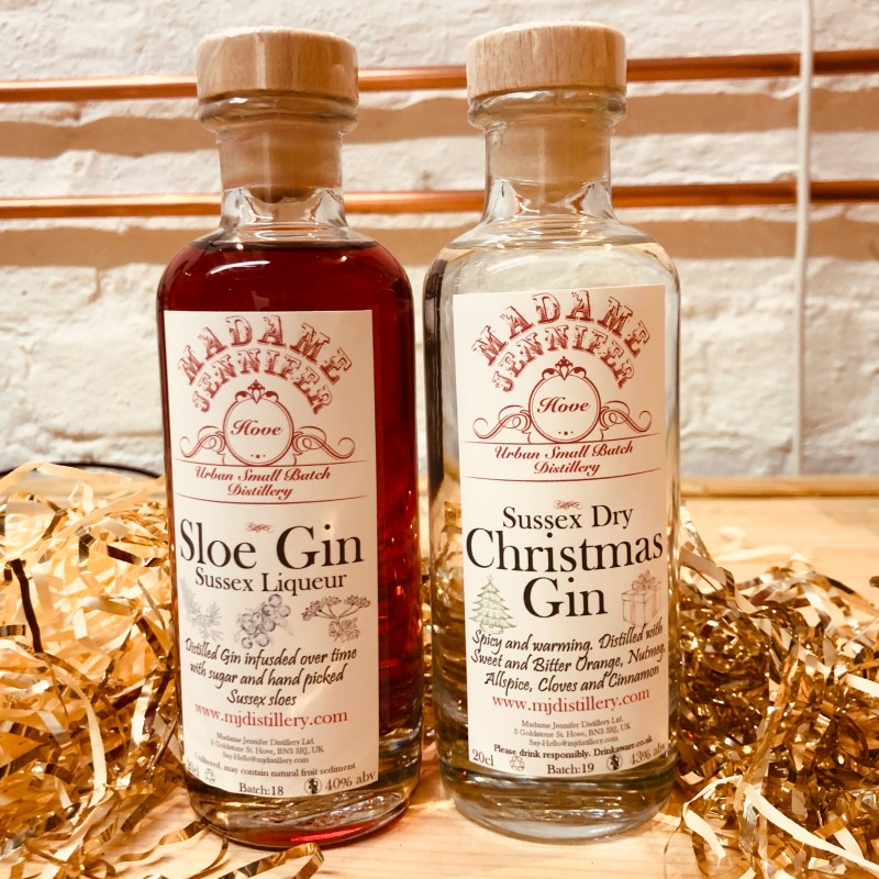 Christmas Gin 20cl & Sloe Gin 20cl