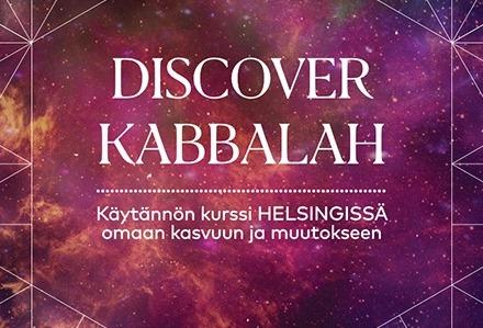 Discover Kabbalah 1 -peruskurssi Helsingissä 27.2.