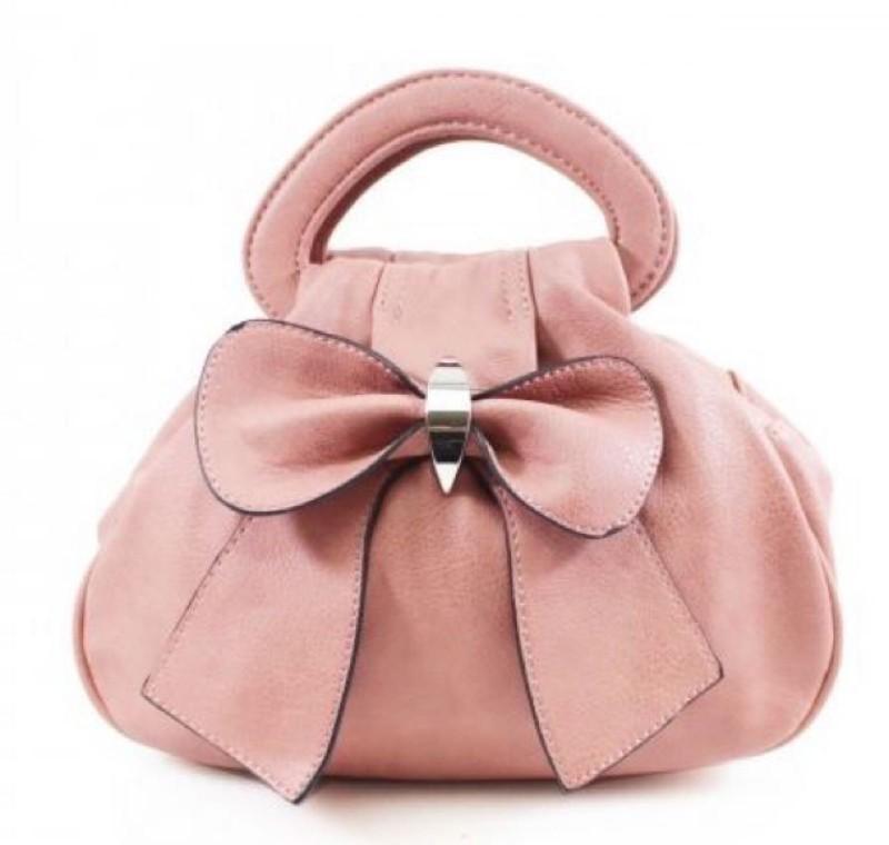 Bow Bag - Dusky Pink