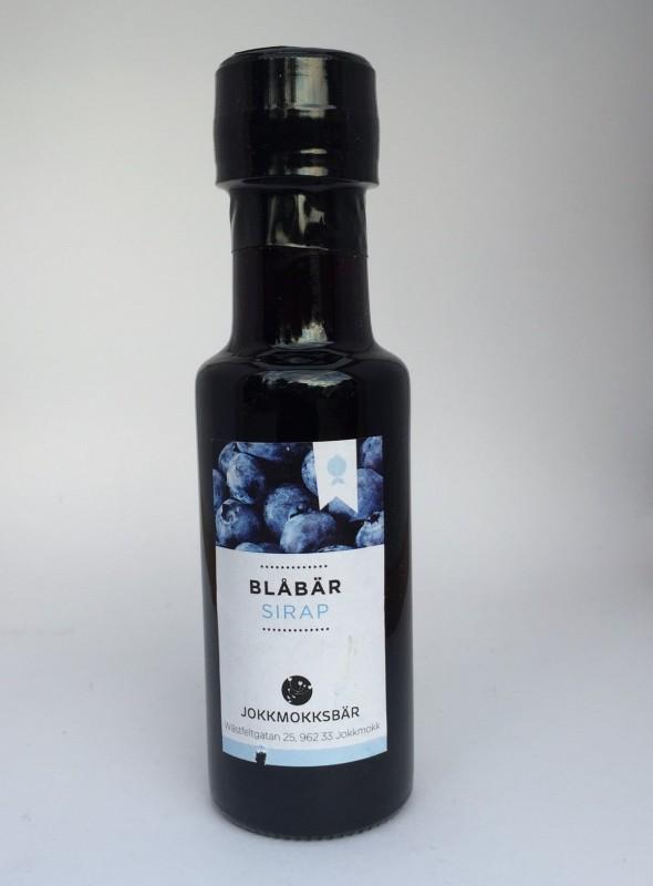 Blåbärssirap, 125 ml