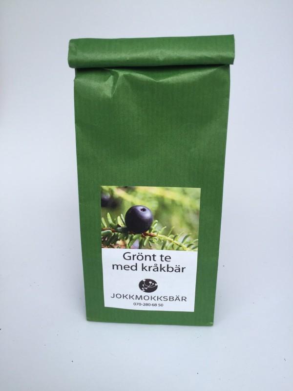 Grönt te med kråkbär, 50 gram