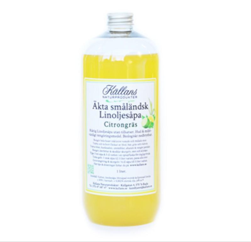 Källans Linoljesåpa Citrongräs