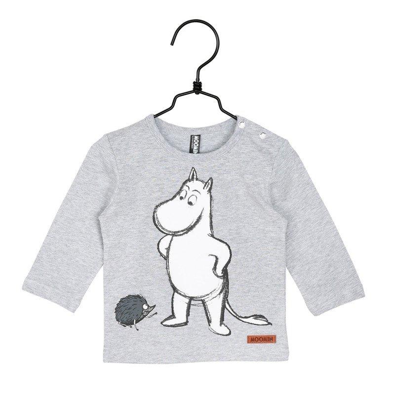 MUMIN Igelkott-tröja grå