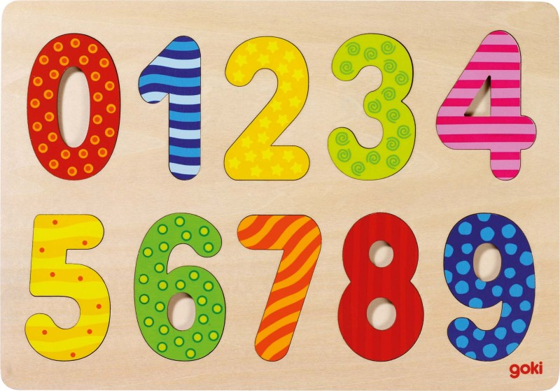Number puzzle 0-9