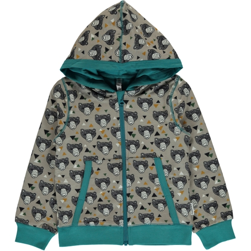 Cardigan Hood GRIZZLY BEAR