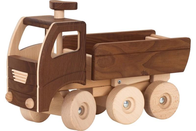 Lastbil med Flak