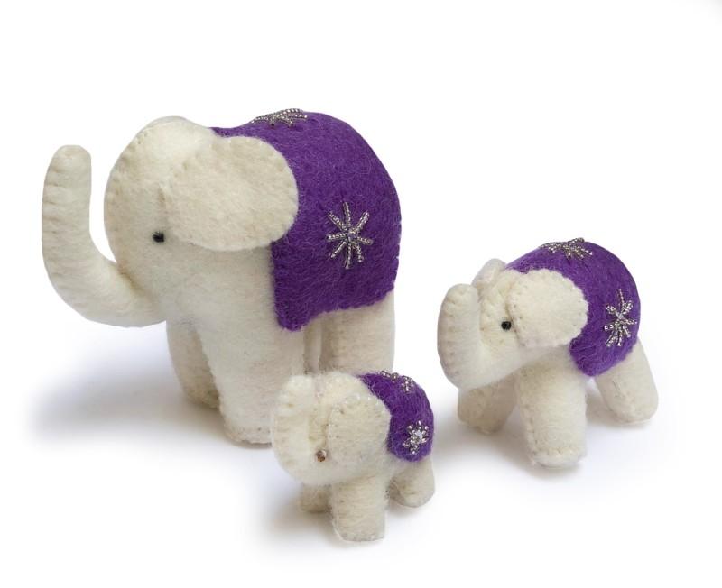 Elefantfamilj, Lila