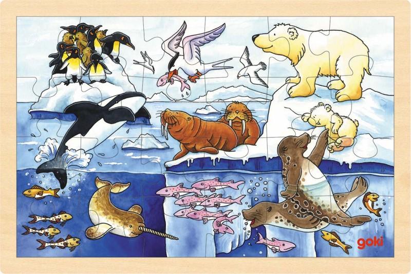 Puzzle artic animals