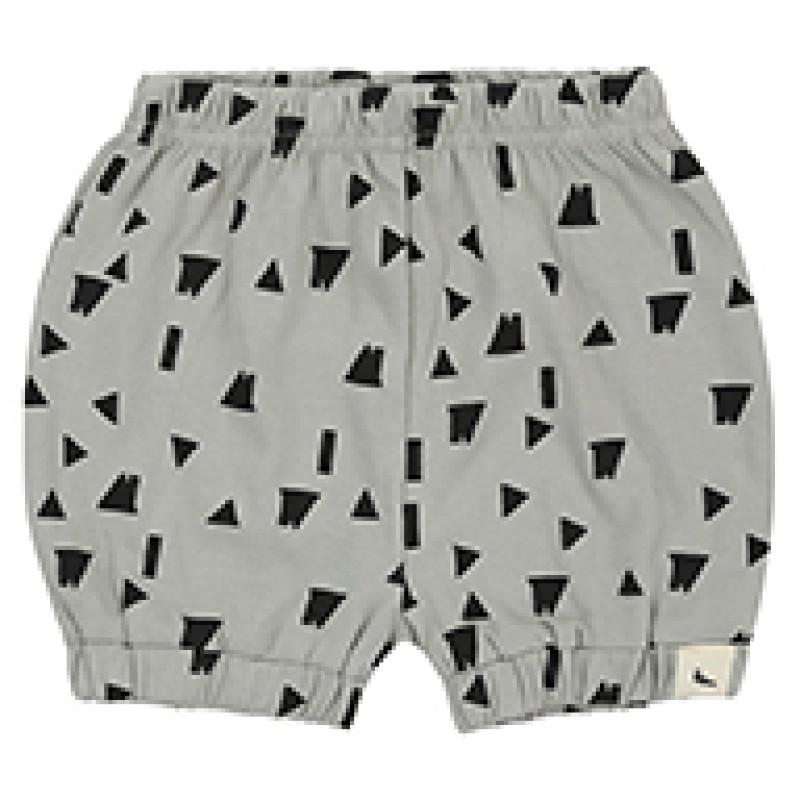 Bloomer Shorts Rooftops Print grey