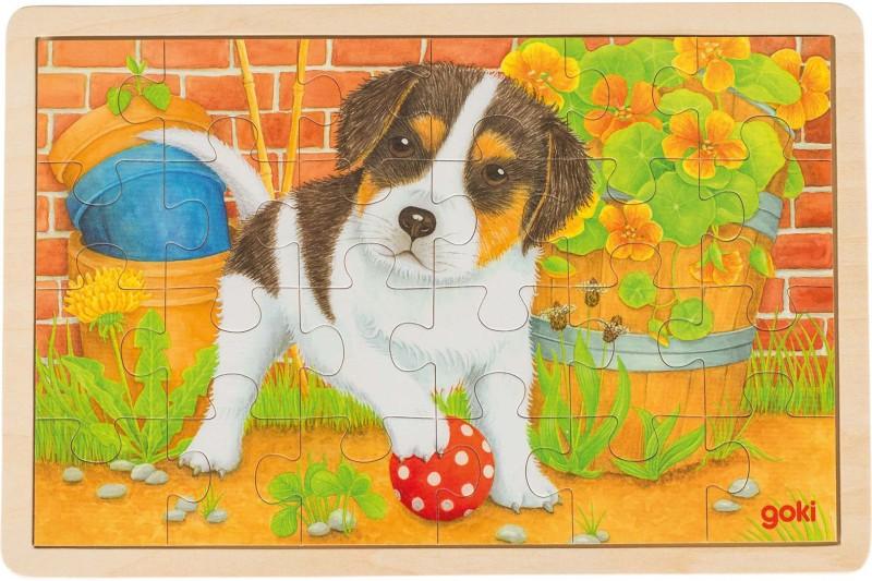 Puzzle, little dog
