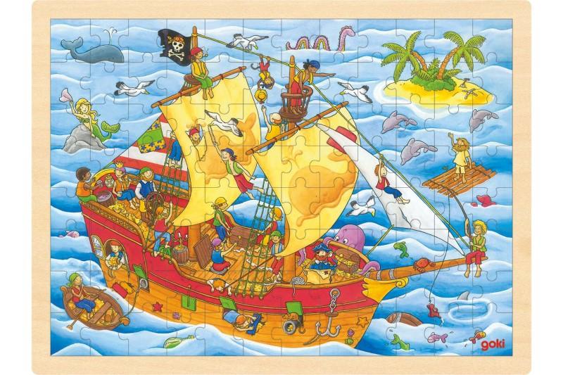 Puzzle, pirates