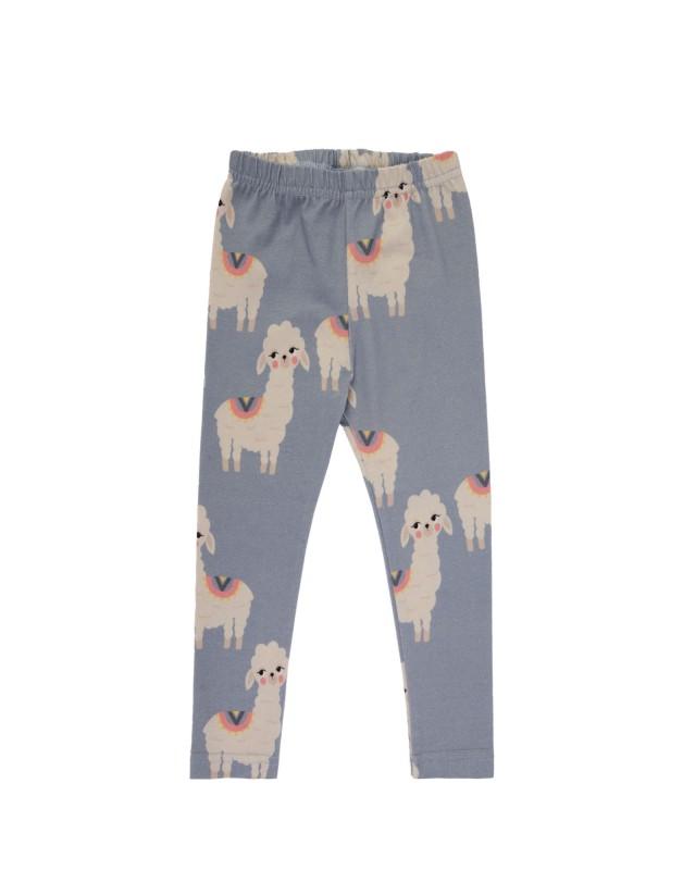 Llama Leggings BLUE