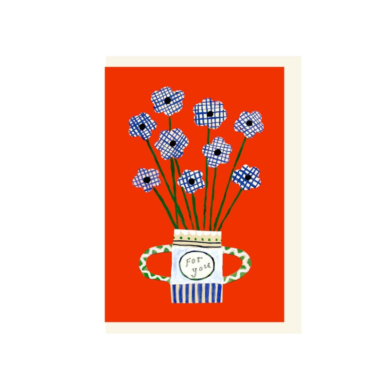 Flowers For You card by Hadley Paper Goods