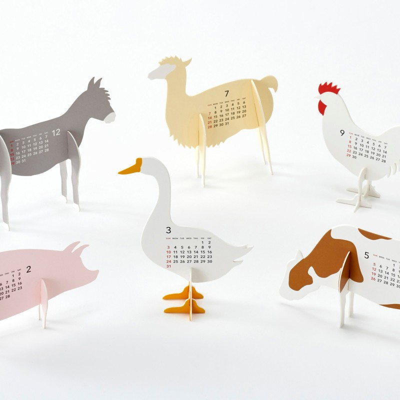 Calendar 2019 Farm craft kit | good morning Inc.