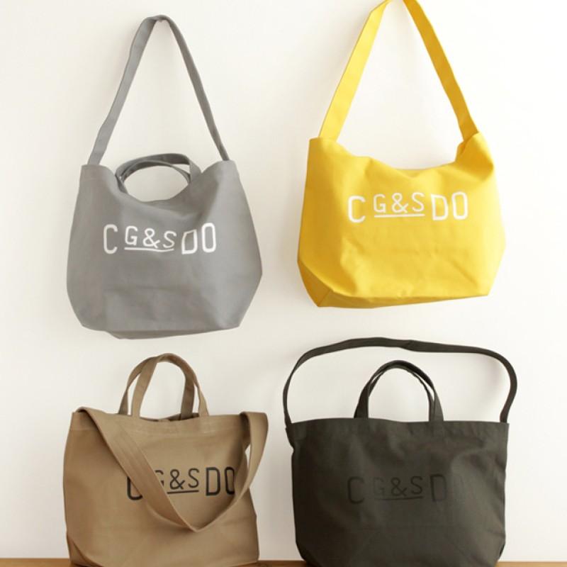 CLASKA | C g&s DO Canvas tote bag