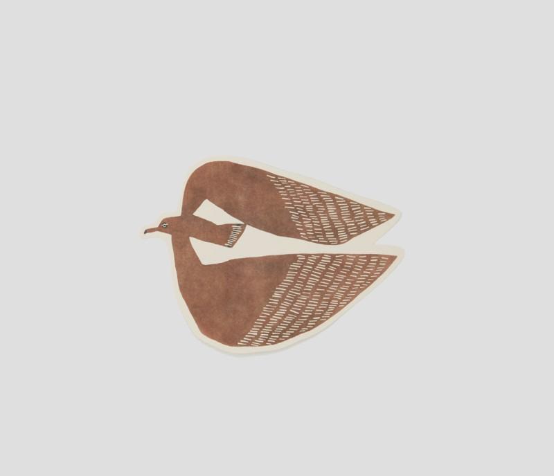 Giant die-cut postcard | Albatross