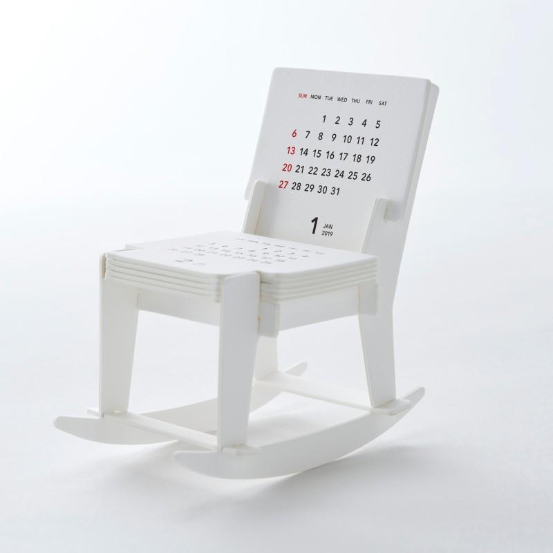 Calendar 2019 Rocking chair craft kit | good morning Inc.