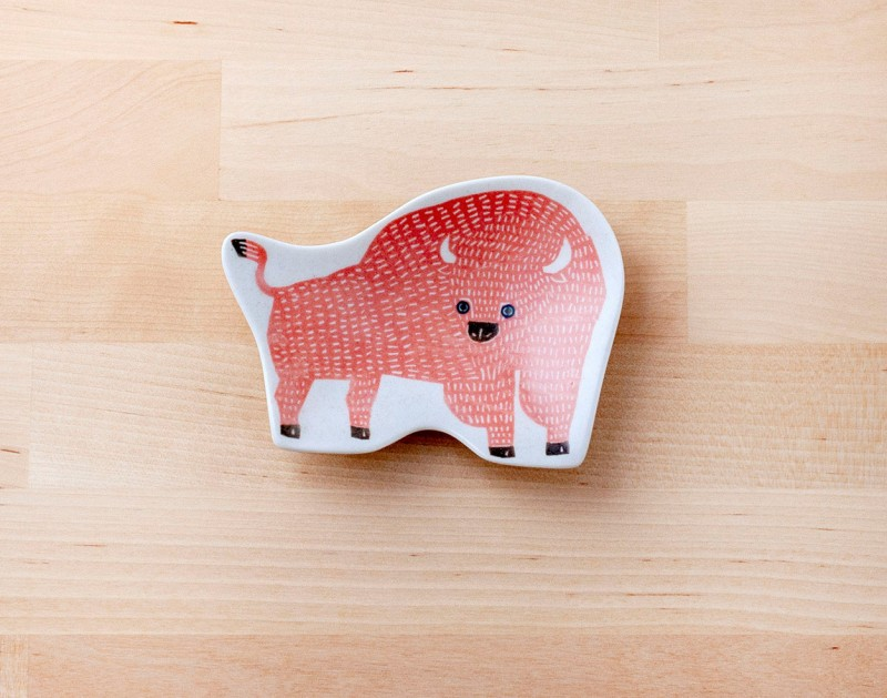 Small dish (bison) | KATA KATA x Classiky