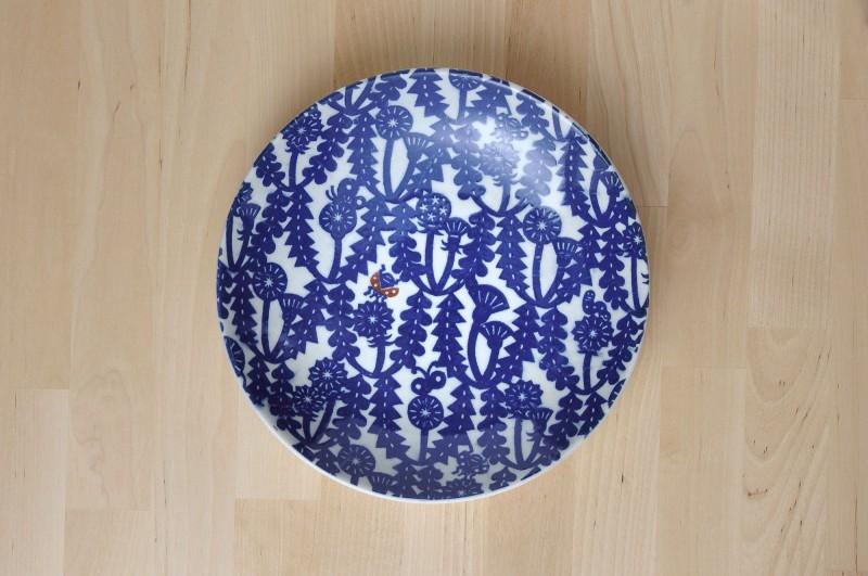 KATA KATA plate L (plant dandelion)