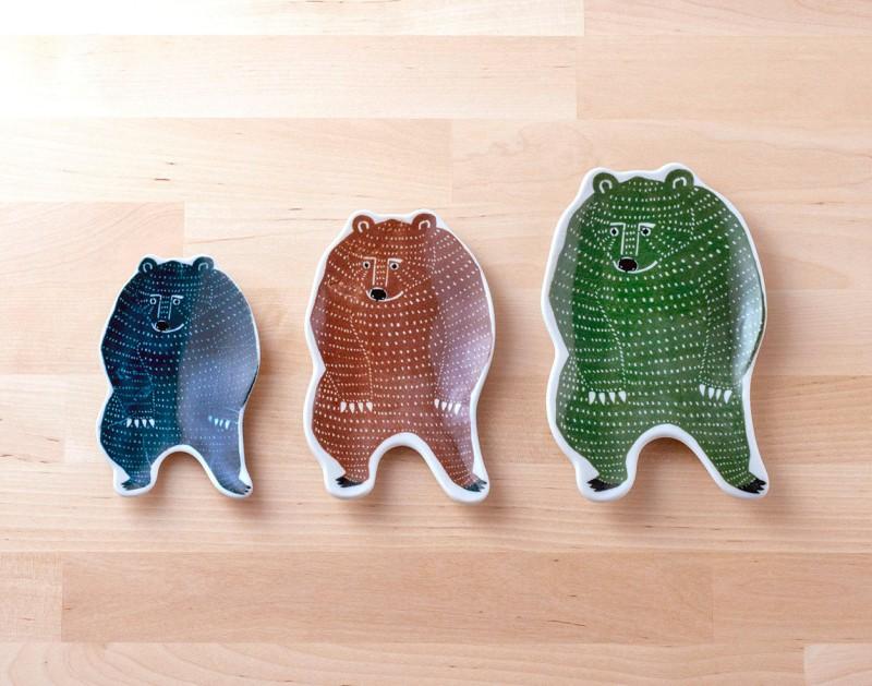Small dish (bear) | KATA KATA x Classiky