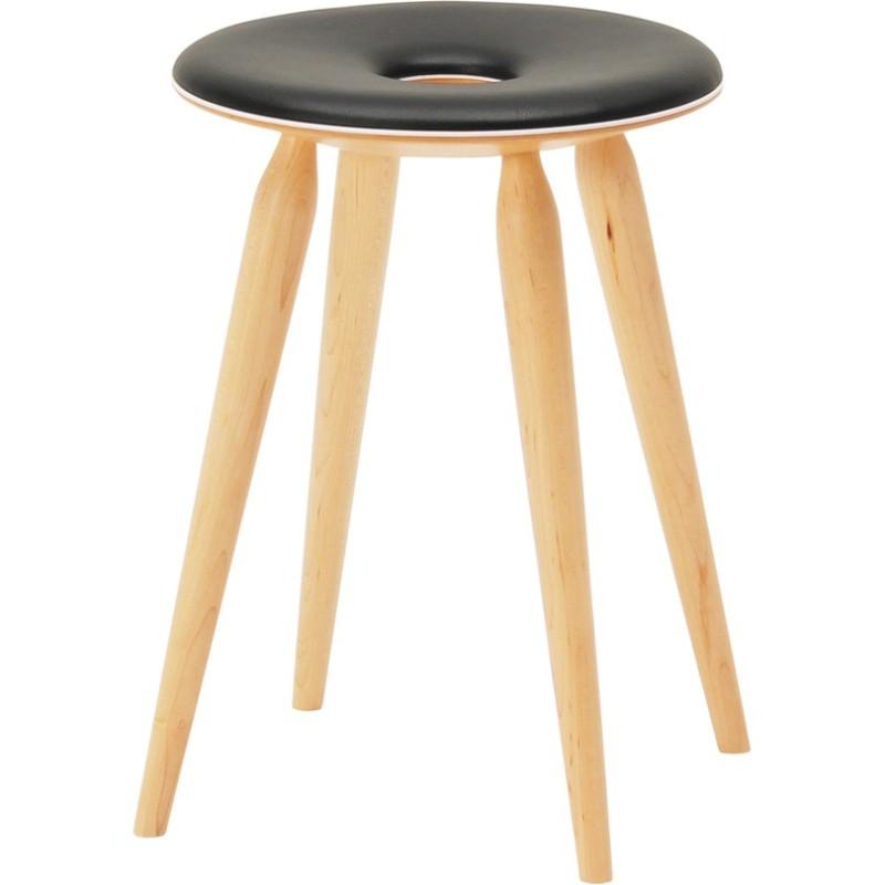 TENDO MOKKO | Ring Stool | leather seat