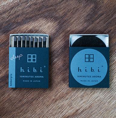 hibi | deep | 10 minutes incense aroma