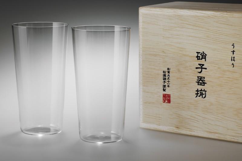 Usuhari Tumbler L 2P w/ box | SHOTOKU Glass