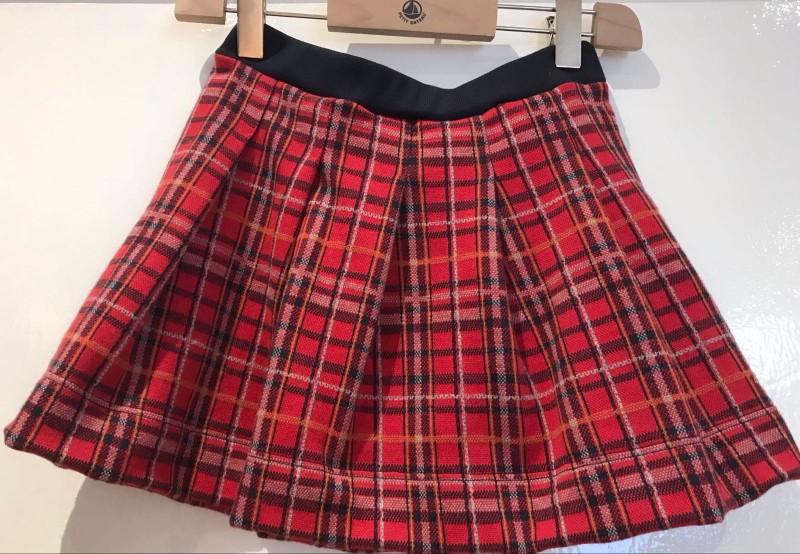 Petit Bateau Tartan Skirt