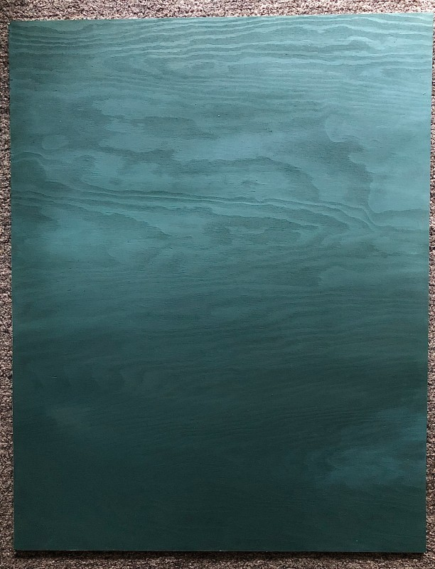 Ocean (Plywood) (Free shipping)