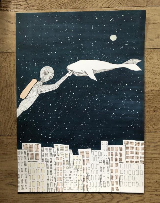 Whale in space (Original)