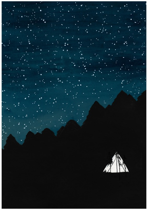 Tent night (2 sizes)