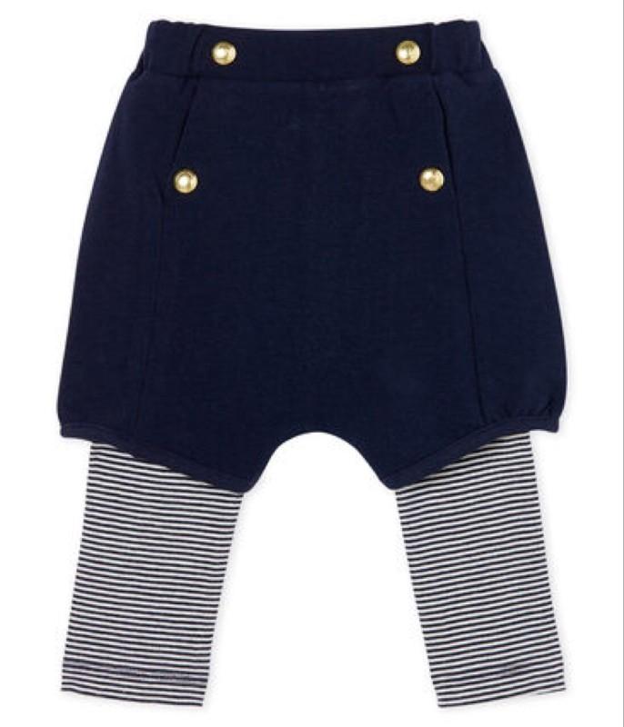 Petit Bateau Shorts with Leggings