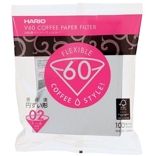 Hario V60 02 Filter x 100
