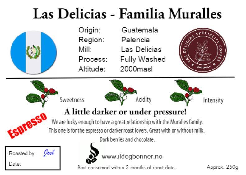 Las Delicias, Guatemala- Espresso