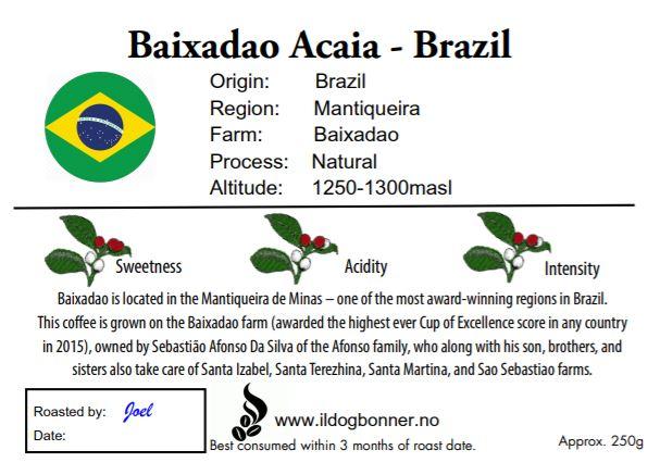 Baixadao Acaia - Brazil - 250g